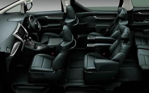 Seat Toyota Vellfire